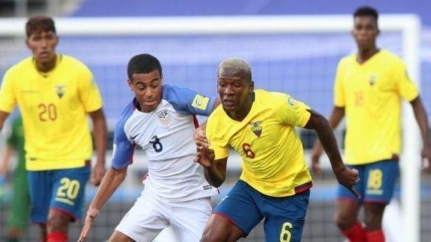 Estados Unidos anota en el minuto 94 y empata 3-3 con Ecuador, en el debut de ambos en el Mundial Sub 20 Corea del Sur 2017