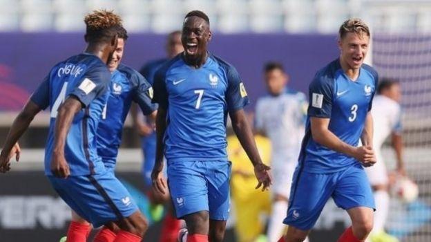 Francia golea 3-0 a Honduras en su debut en el Mundial Sub 20 Corea del Sur, en actividad del Grupo E