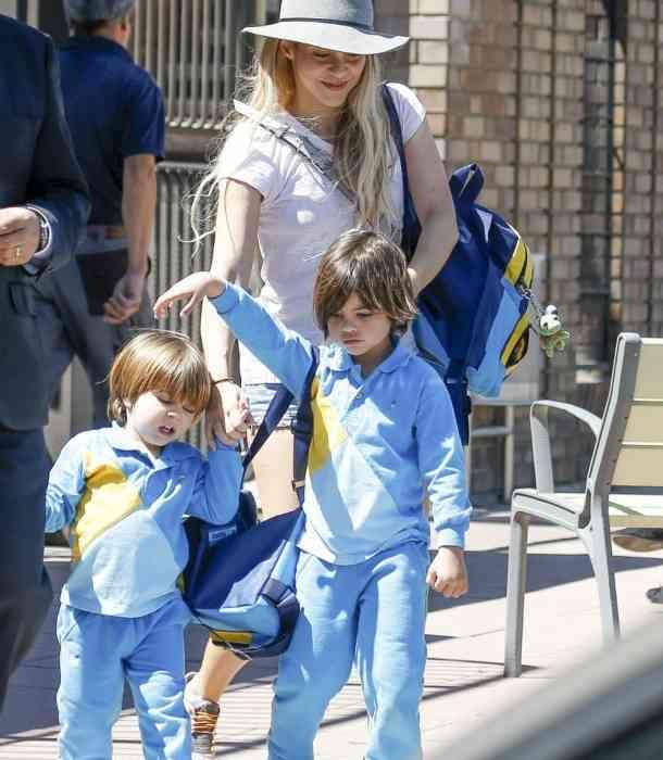Los hijos de Shakira enternecieron por su gran parecido a sus padres