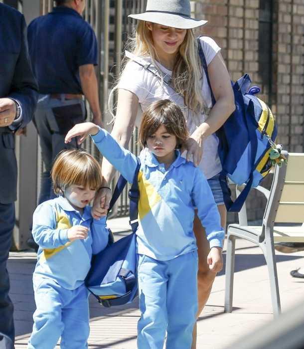 Shakira mostró el gran amor que siente por sus hijos