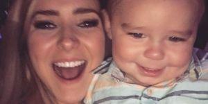 Hijo de Ariadne Díaz enloquece Instagram con emotiva foto