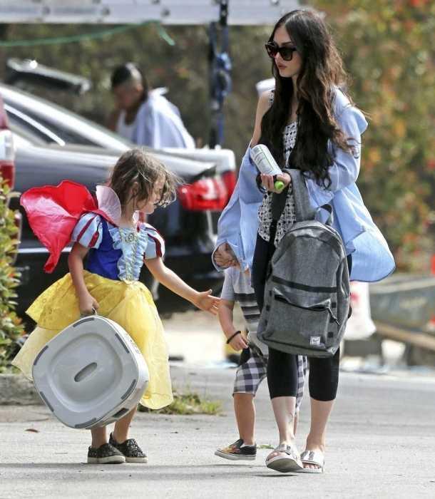 El hijo de Megan Fox se vistió de Blancanieves