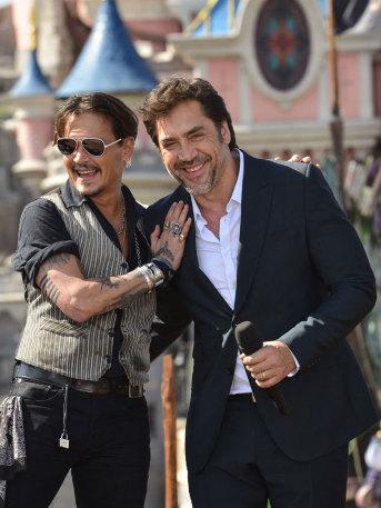 ¡Es oficial! Javier Bardem y Johnny Depp se convertirán en famosos monstruos