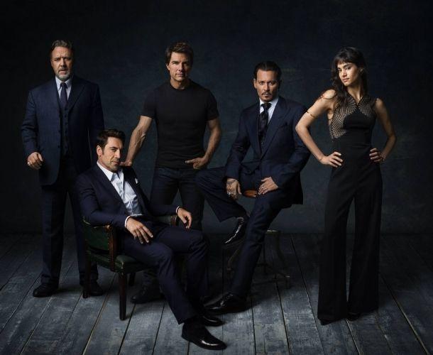 Estos actores protagonizarán las películas de Dark Universe