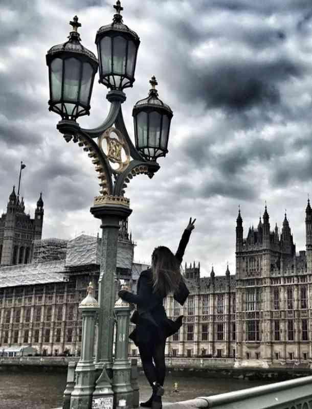 Sherlyn mostró su viaje a Europa en Instagram