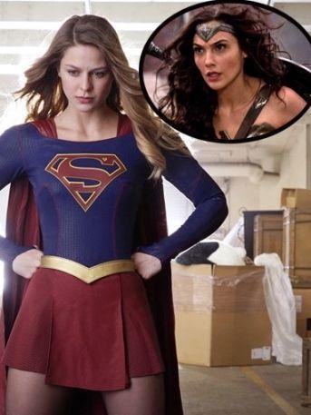 ¡Al rescate! 'Mujer Maravilla' le presta sus botas a 'Supergirl'