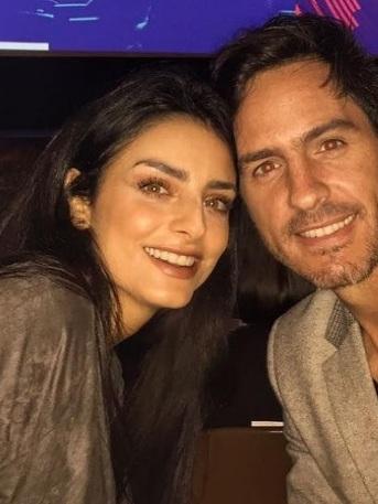 ¡Ufff! Mauricio Ochmann publica su foto más caliente con Aislinn Derbez