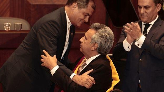 Lenín Moreno jura como presidente de Ecuador