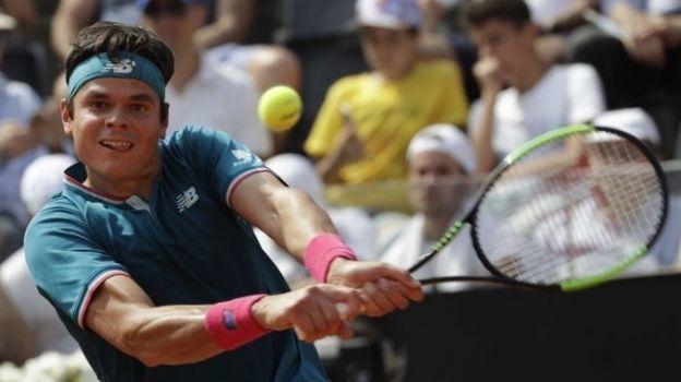 Milos Raonic, Jo-Wilfried Tsonga y Tomas Berdych aseguran un lugar en las semifinales del torneo en Lyon