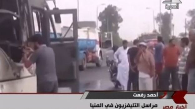 Mueren 26 personas por tiroteo contra autobús de cristianos