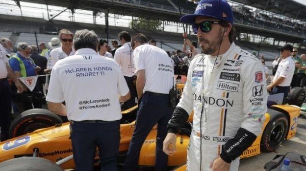 El piloto español de Fórmula Uno, Fernando Alonso, acaparará la atención durante las 500 Millas de Indianápolis