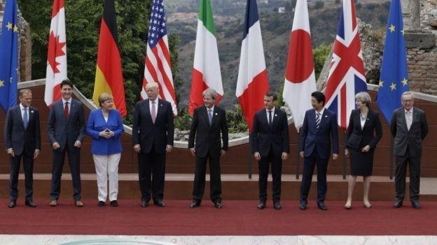 Líderes del G7 firman declaración de lucha contra el terrorismo