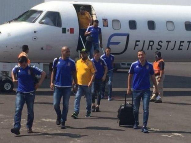 Tigres llega a Guadalajara
