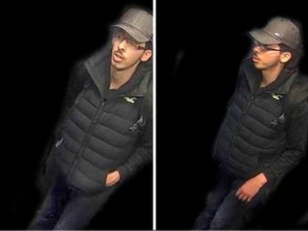 Policía británica revela fotografía del terrorista suicida de Manchester