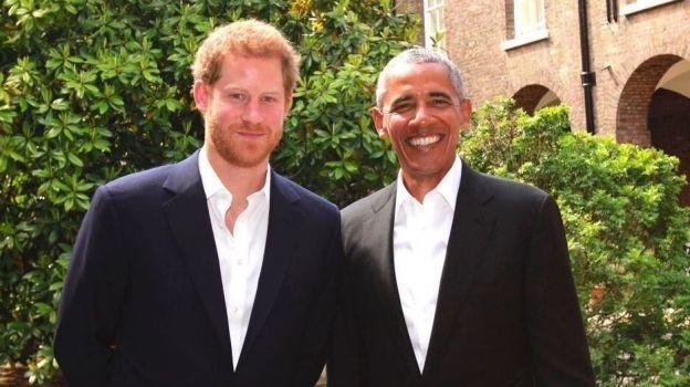 Obama recuerda a víctimas de Manchester con el príncipe