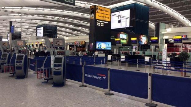 British Airways atribuye falla a problema eléctrico
