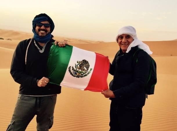 Fernando del Solar vive vacaciones de ensueño