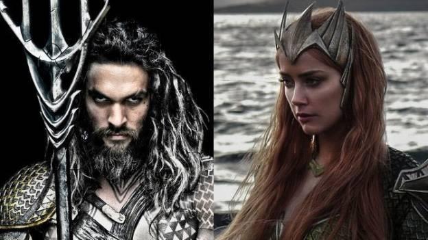 'Arthur Curry' y 'Mera' son captados en filmación de 'Aquaman'