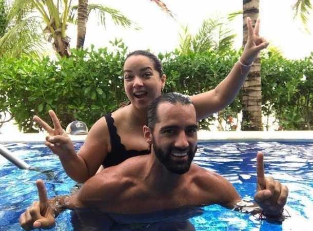 Adamari López se fue al Caribe mexicano con su esposo Toni Costa