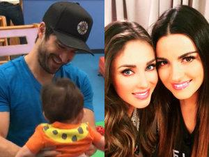 ¡Hijo de Alfonso Herrera enamora a Anahí y Maite Perroni en video!