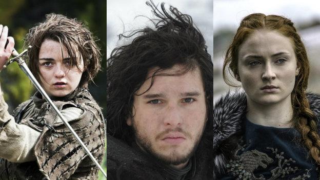 ¡Paren todo! Publican fotos inéditas de los 'Stark' de Game Of Thrones