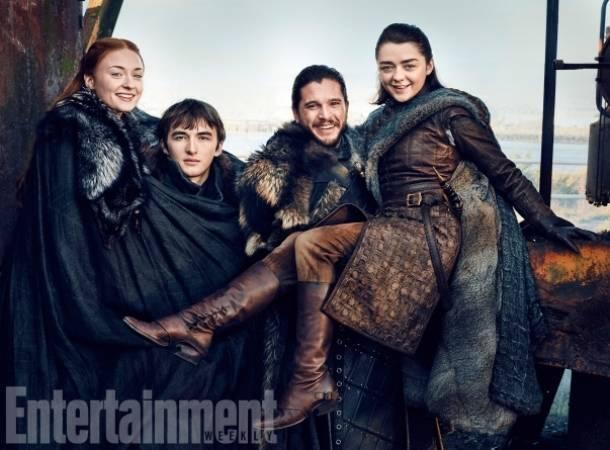 Los hermanos Stark se reunieron