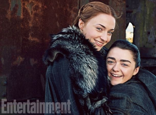 Las hermanas Stark de Game Of Thrones