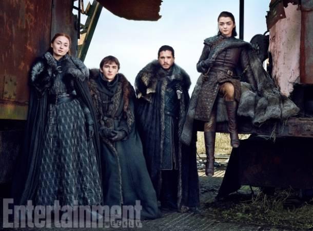 Ellos son los herederos de Invernalia