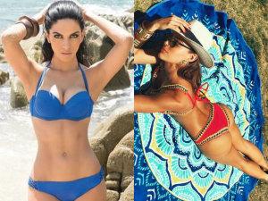 ¡Doblete de sensualidad! Guerra de bikinis: África Zavala vs Sara Corrales