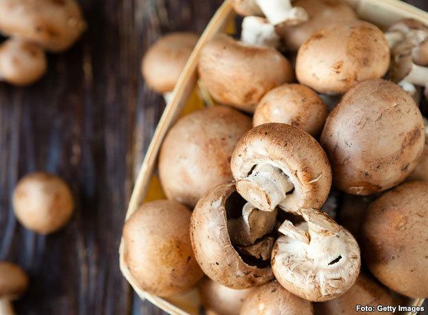Los hongos son ideales para bajar de peso