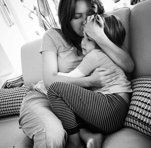 Thalía presumió a su hijo en Instagram