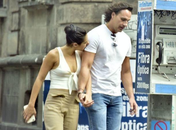Renata Notni pasea con su novio en Polanco