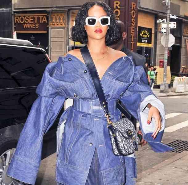 Rihanna hace un meme para responder a las críticas por su peso