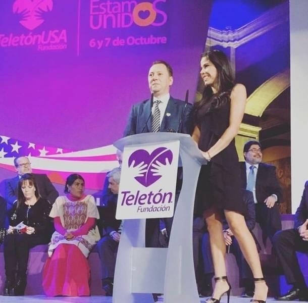 Paola Rojas y Mariano Osorio presentaron los cambios del Teletón 2017