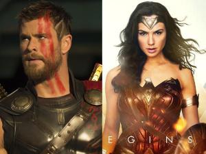 ¿Quién es más poderoso: 'Mujer Maravilla' o 'Thor'? ¡Gal y Chris responden!