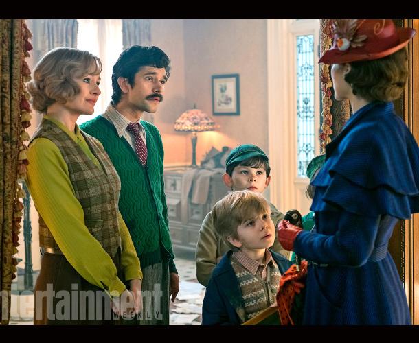 ¡Mira las primeras imágenes de 'Mary Poppins Returns'!