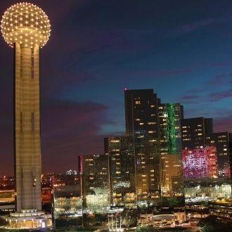 Con CityPASS podrás tener una vista 360 de Dallas desde Reunion Tower