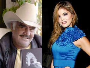 ¡Qué bonito! Ana Bárbara canta junto a Vicente Fernández