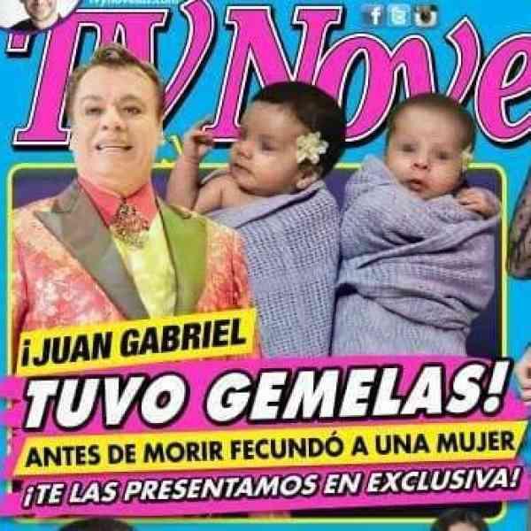 ¡Revelan fotografía de las supuestas gemelas de Juan Gabriel!