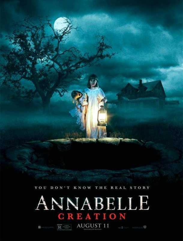 Revelan nuevo póster de la película 'Annabelle: La Creación'