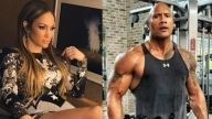 El actor Dwayne Johnson enloqueció Instagram al mostrar una candente foto de Jennifer Lopez, donde luce su voluptuoso trasero. ¡Qué ardiente!