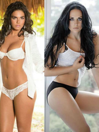¡Exquisitas a la vista! Guerra de bikinis: Zuria Vega vs Livia Brito