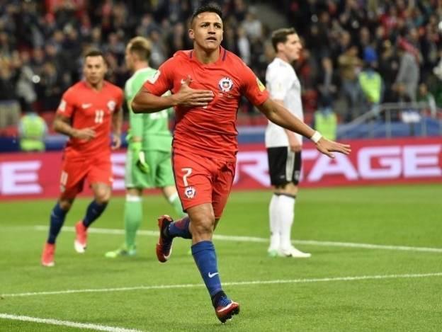 ¡Vibrante empate en Kazán! Alemania 1-1 Chile