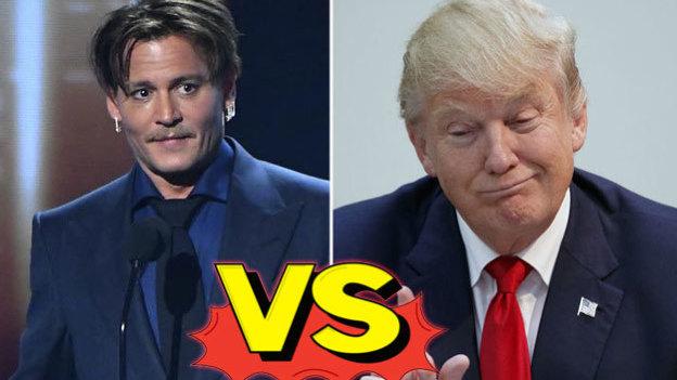 Johnny Depp quiere 'matar' a Trump... ¡Y ya contestó la Casa Blanca!