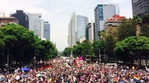 Se realiza la edición 39 de la Marcha del Orgullo Gay en la CDMX
