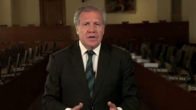 Renunciaré a la OEA cuando Venezuela sea libre, dice Almagro a Maduro
