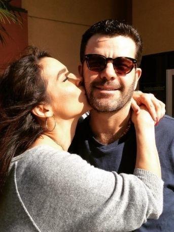 Bibi Gaytán revela emotivas fotos de su boda con Eduardo Capetillo