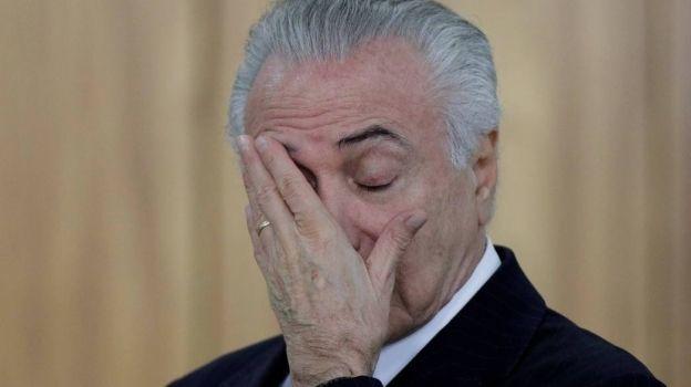 Fiscalía brasileña denuncia a Michel Temer por corrupción