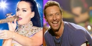 ¿Romance entre Chris Martin y Katy Perry?