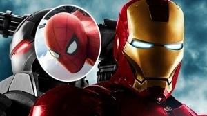 ¿Lo notaste? Spider-Man aparece en la película Iron Man 2